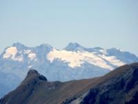 La Testa del Rutor ed il relativo ghiacciaio (3.486 mt)