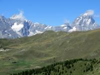 Cervino (4.478 mt) e Grandes Murailles (3.905 - Punta Margherita)