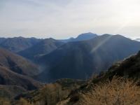 Valsassina dalla sommità del Monte Legnoncino