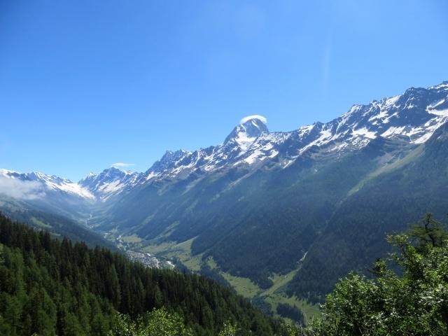 Panorama sulla Lötschental lungo la salita per Kummenalp