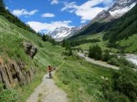 Sentiero che da Kuhmad conduce a Blatten