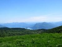 Panorama - Laveno, sasso del Ferro e prealpi varesine