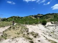 """Discesa lungo il versante occidentale del Mottarone - inizio della """"area granitica"""""""