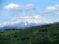Panorama - catena del Monte Rosa