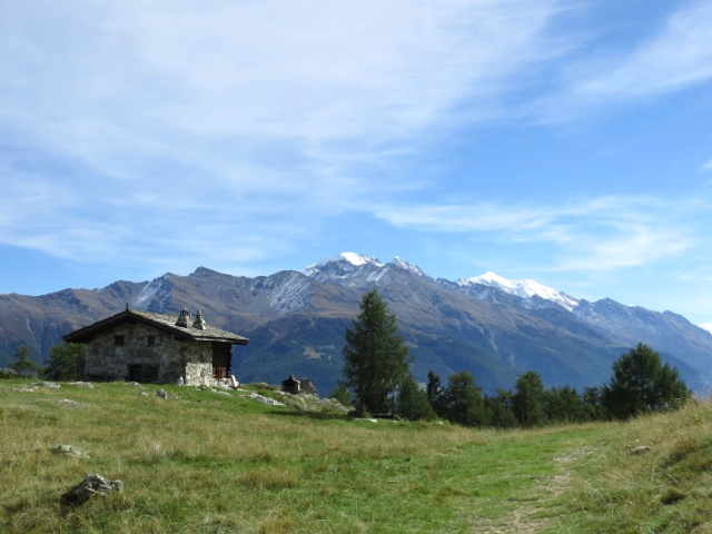 Breitmatte, panorama su Weissmies, Lagginhorn e Fletschhorn
