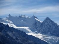 Gruppo del Mischabel (Dom 4.545 mt, Nadelhorn 4.327 mt, Lenzspitze 4.294 mt, Duerruhorn 4.035 mt, Stecknadelhorn 4.242 mt, Hohberghorn 4.219 mt)
