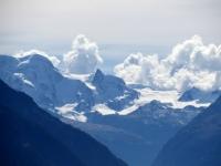Gruppo del Monte Rosa (Breithorn 4.159 mt) - a lato il Piccolo Cervino ed il Plateau Rosa
