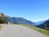 Panorama sulla vallata di Briga/Visp salendo a Zeneggen