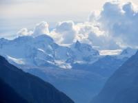 Gruppo del Monte Rosa (Breithorn 4.159 mt) con Piccolo Cerino e Plateau Rosà