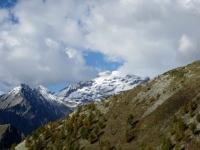 Ghiacciaio del Monte Leone visto dal Passo del Monscera