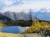Lago alpino del Monscera
