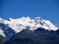 Punta Dufour (4.634), Punta Gnifetti (Rif. Margherita, 4.554), Punta Parrot (4.432), Piramide Vincent (4.215)