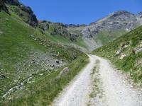 Una delle ultime rampe prima dell'arrivo al Rifugio Grand Tournalin - la foto nasconde le pendenze al 18% !
