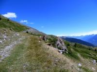 Salita all'Alpe Tsecrousa - il fondo peggiora