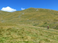 Passaggio tra i prati presso l'Alpe Tsecrousa