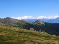 Alpe Grand Arpilles - panorama sulla Becca France
