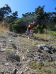 Trail di discesa verso Fossaz-Saint Nicolas - particolare