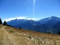 Sentiero per l'Alpe Letanaz inferiore