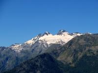 Testa del Rutor e relativo ghiacciaio