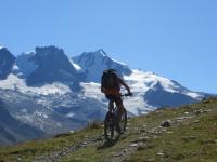 Gran Paradiso - Lungo il sentiero che collega l'Alpe Djouan con l'Alpe Chauplanaz
