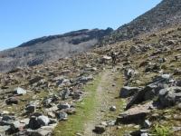 La prima parte (ciclabile) della salita al Colle Manteau