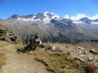 Colle Manteau (2.789) - Spettacolare vista sul massiccio del Gran Paradiso (4.061)
