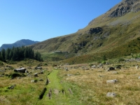Piano di Orvieille - sullo sfondo l'Alpe Djouan