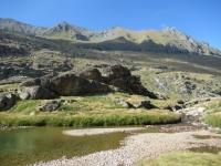 Percorrendo il sentiero che attraversa i Piani del Nivolet - paesaggio
