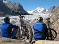Al cospetto dell\'Aletsch nella valle di Goms