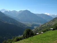 Valle di Briga sullo sfondo