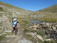Sulla via del ritorno - laghetto alpino