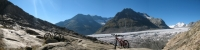 Ghiacciaio dell'Aletsch - panoramica