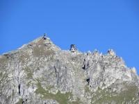 La stazione di arrivo della funivia sull'Eggishorn