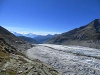 Ghiacciaio dell'Aletsch (in direzione Sud-Ovest)