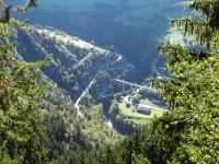 Viadotto di Grengiols - Panorama percorrendo la forestale per Martisberg