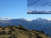 I rilievi che separano il Vallese dalla Val Formazza - Panorama da Hohfluh