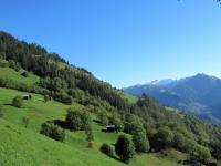 Panorama salendo da Betten in direzione di Riederalp