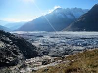 Aletschgletscher - Un mare di ghiaccio!