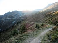 Il sentiero che aggira il Tälligrat