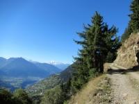 Bel percorso in fuoristrada per Martisberg