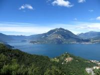 Il Lario con il Crocione, il monte di Tremezzo ed il Galbiga