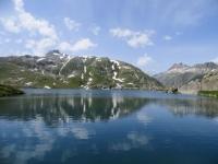 Totesee visto da Plaenggerli prima della discesa a Gletsch