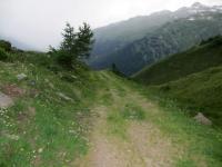 Gand, inizio sterrato per Oberwald
