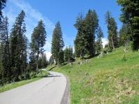 Salita in direzione della Val da Larisch