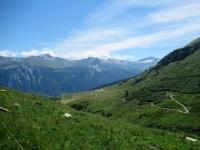 Val da Larisch - Vista sull'alpeggio di Dumagns