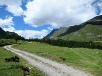 In prossimità dell'Alpe di Bovarina