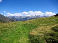 Alpe di Bovarina - Il sentiero che scende alla Capanna Bovarina