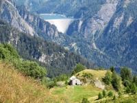 L'area della Capanna Bovarina