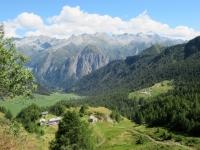 Panorama sulla Capanna Bovarina