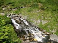 Bella cascata creata dal torrente d'Orsaria